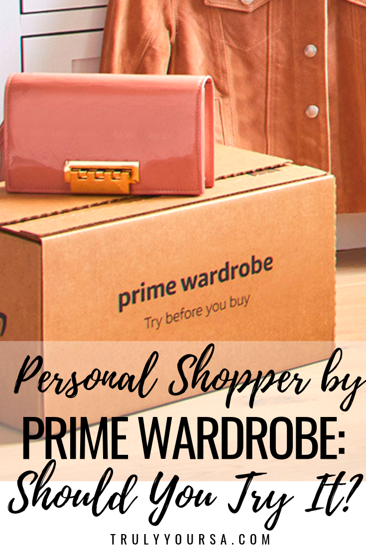These days Amazon Prime is LIFE. I'm a huge fan of Amazon Prime, Prime Now, and Prime Wardrobe for quick closet additions. It's never been so easy for amazing fashion pieces to show up on your doorstep practically overnight. Sometimes you have to do a little digging before finding a gem, but Amazon's new service can help with that. What is it and should you try it out? Keep reading to find out! #personalshopperbyprimewardrobe #amazonprime #subscriptionservice #subscriptionboxreview