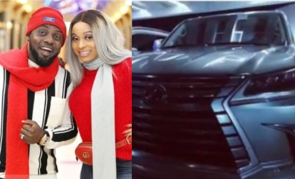 AY gifts himself & his wife, Mabel brand new cars [photo]