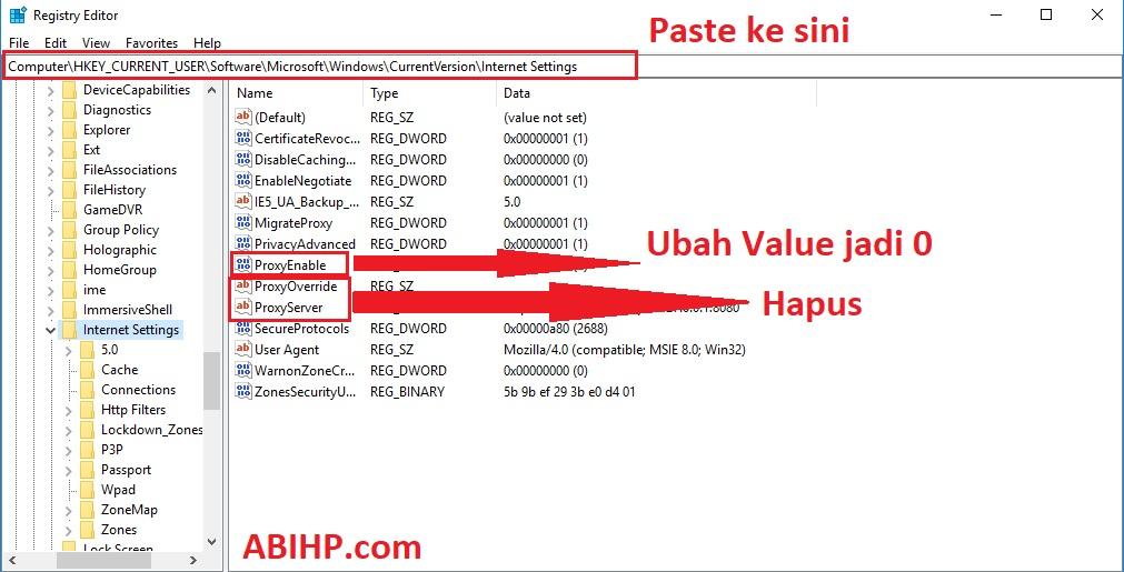 Hapus Proxy