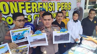 Polres Cirebon Kota Tetapkan Tersangka Eksploitasi Galian C Argasunya