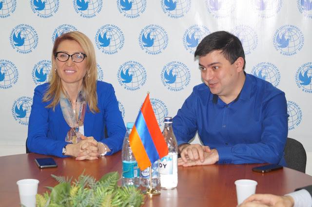 Հանդիպում ՀՀ ԱԺ պատգամավոր Մանե Թանդիլյանի հետ