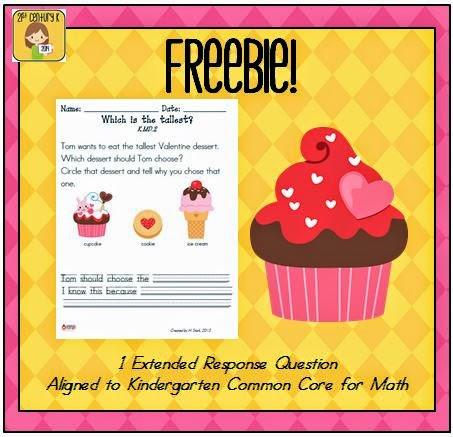 http://www.teacherspayteachers.com/Product/Valentine-Kindergarten-Extended-Response-FREEBIE-558790