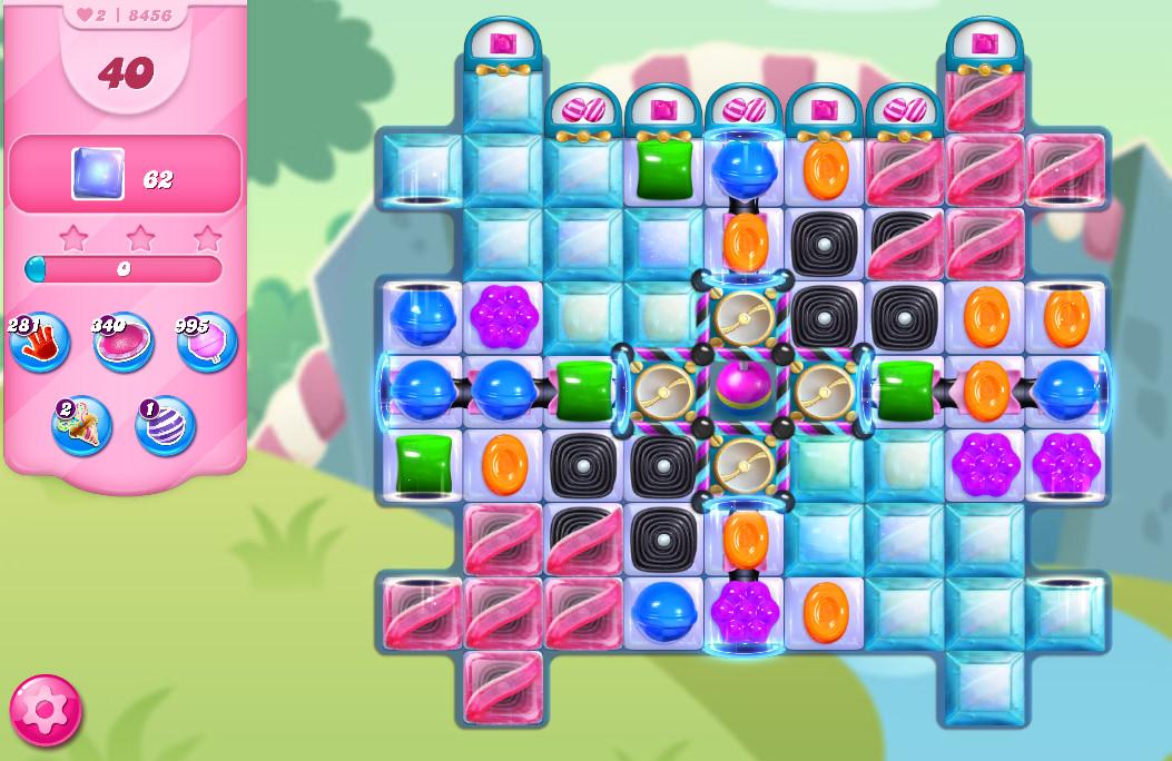 Candy Crush Saga level 8456