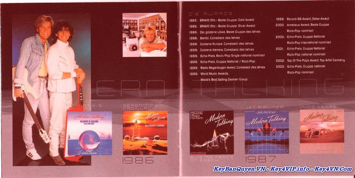 20 bài hát FLAC hay nhất của nhóm Modern Talking .