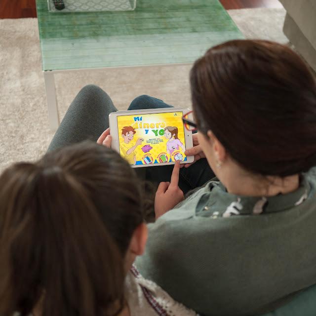 Mi dinero y yo app en mi iPad