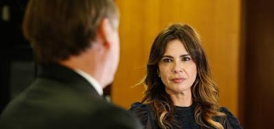 Após entrevista com Bolsonaro, Luciana  Gimenez manda indireta para críticos