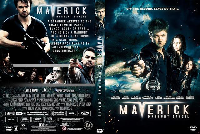 Maverick: Manhunt Brazil DVD Cover