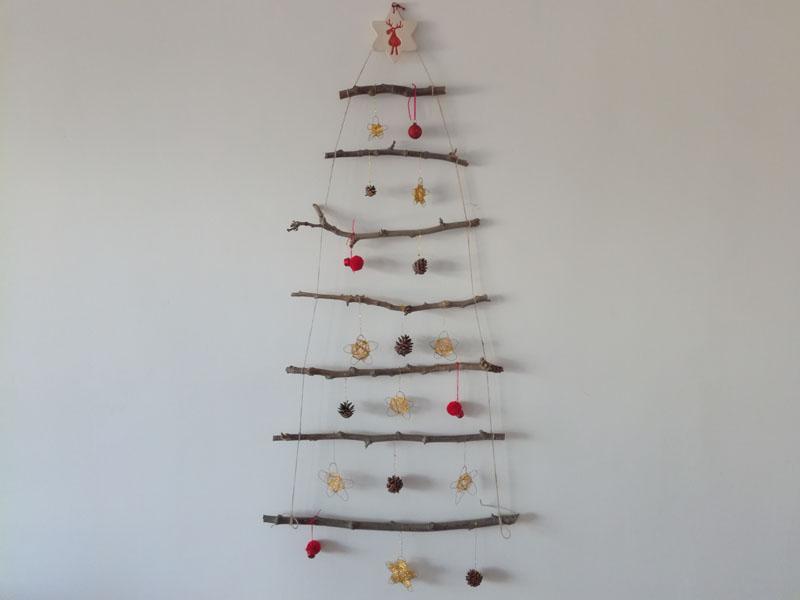 Foto: Albero di Natale da appender al muro