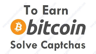 Making Bitcoins by solving captchas