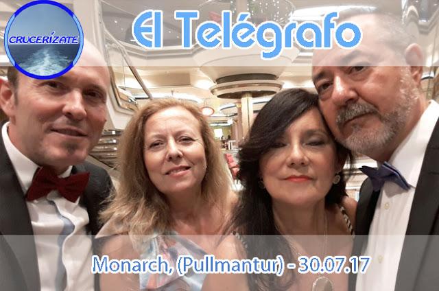 EL TELÉGRAFO - DÍA SEGUNDO - NAVEGACIÓN - FIORDOS NORUEGOS