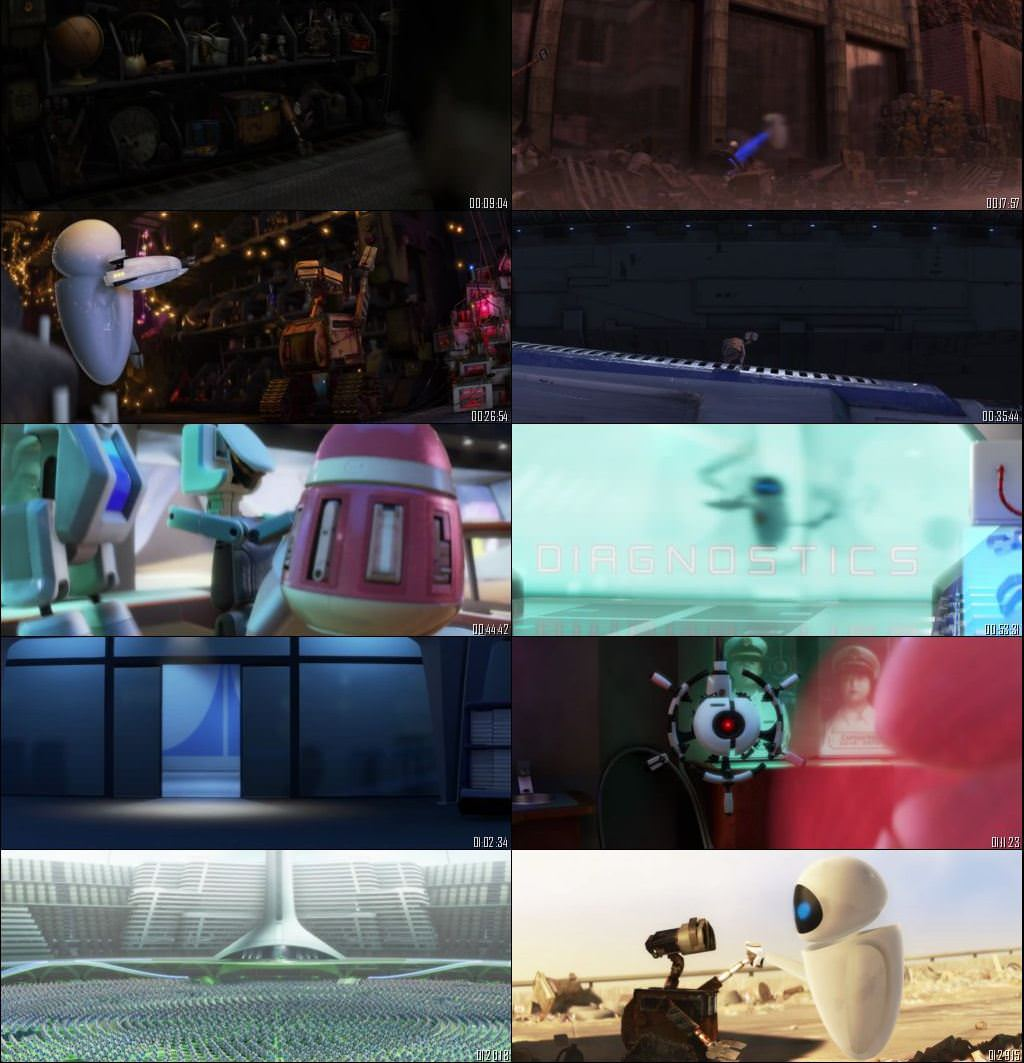 WALL-E 2008 Dual Audio