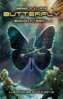 """Portada del libro """"Butterfly"""", de Sergio R. Alarte"""