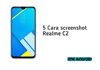 Screenshot Realme c2