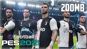 Pes 2021 apk+data 200mb download - hardgamerx