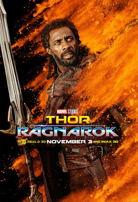 Marvel's Thor: Ragnarok Character Movie Poster Set