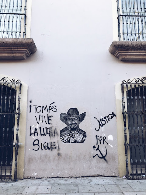Tomas Martinez Pinacho Oaxaca street art