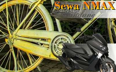 Sewa sepeda motor N-Max Jl. Pasir Jaya Bandung