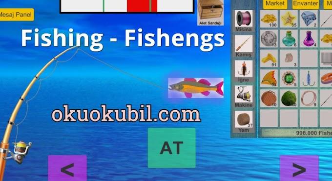 Fishing - Fishengs 1.23 Balıkçı + Sihirli Olta APK İndir 2020