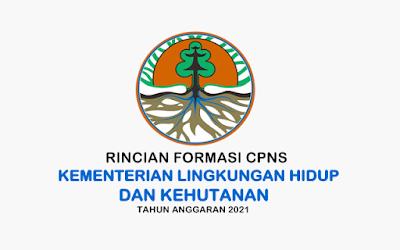 Formasi CPNS Kementerian Lingkungan Hidup dan Kehutanan Tahun 2021