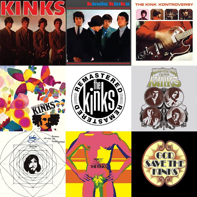 Timeless Classics From The Kinks - 7 Must Have Albums Mastered for iTunes/HD