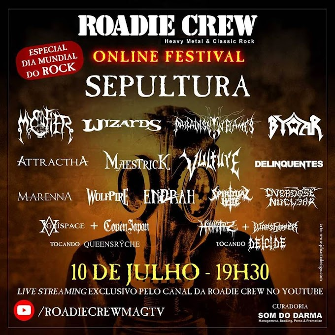 Conheça as bandas: Roadie Crew Online Festival - 4° Edição