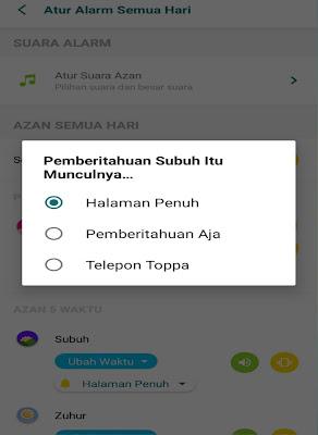 Cara membuat alarm adzan otomatis di android