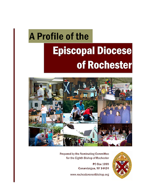 The cover of A Profile of the Episcopal Diocese of Rochester
