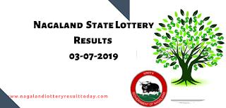 Nagaland State Lottery 03-07-2019