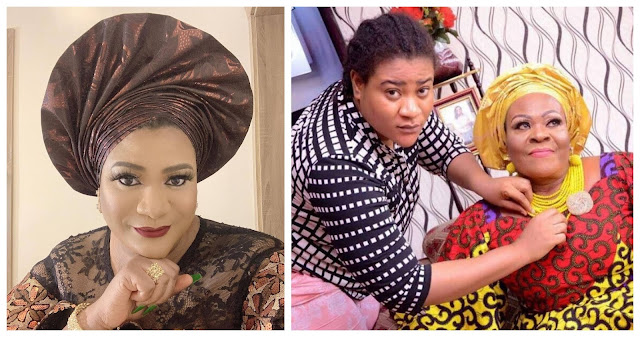 Actress Nkechi blessing loses her mom