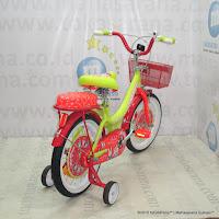 Sepeda Anak United My Music 16 Inci Yellow Orange
