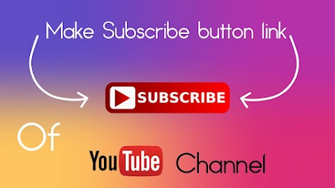 How To make YouTube subscribe link