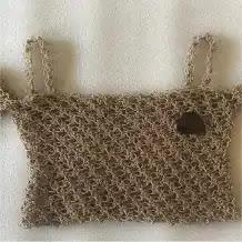 Top Punto Espuma a Crochet