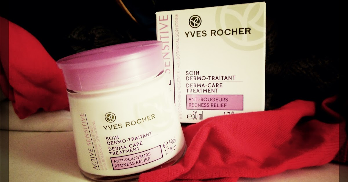 Yves Rocher - Active Sensitive - krem na zaczerwienienia..