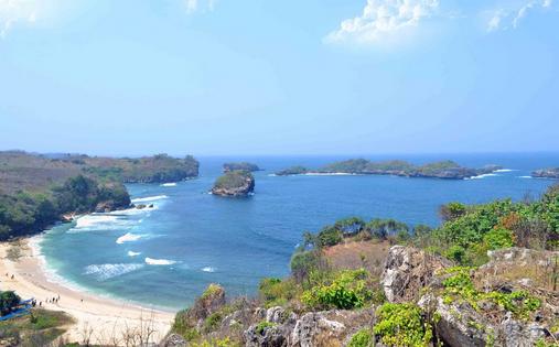 Pesona Keindahan Wisata Pantai Peh Pulo Blitar Ihategreenjello