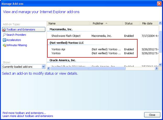 yontoo layers internet explorer