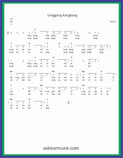 not angka lenggang kangkung lagu daerah jakarta