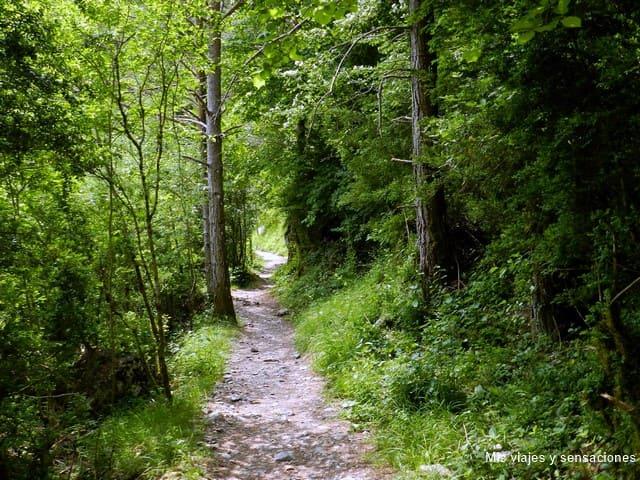 ruta a la ermita de San Úrbez, Cañón de Añisclo, Aragón