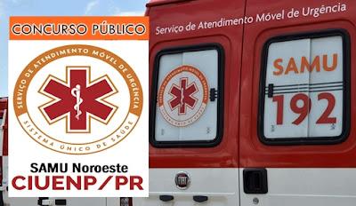 Apostila CIUENP PR - concurso SAMU Noroeste 2017.