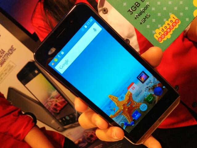 Inilah Ponsel 4G di Bawah Rp1 Juta Kolaborasi Advan dan Indosat Ooredoo