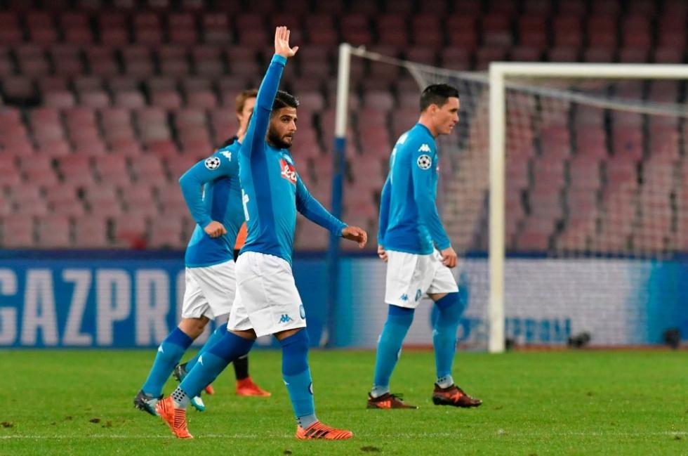 Insigne Zielinski Mertens fanno sognare il Napoli: 3-0 allo Shakhtar e qualificazione in ballo | Calcio Champions League