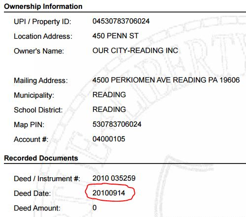 Berks County Gift Deed Form | Pennsylvania | Deeds.com