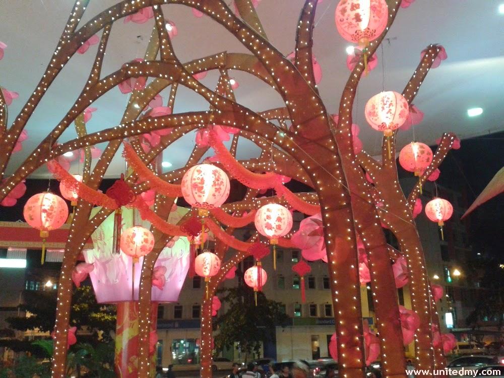 Suria Sabah Chinese New Year Decoration 2015 | Unitedmy