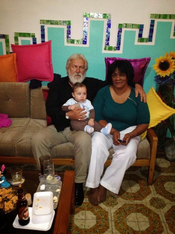 Abuelo, Abuela e hijo