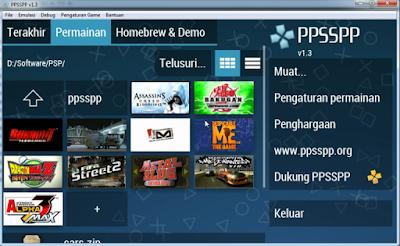 Cara Bermain Game PSP di Laptop Dengan Mudah