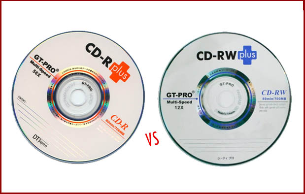 Perbedaan CD R dan CD RW