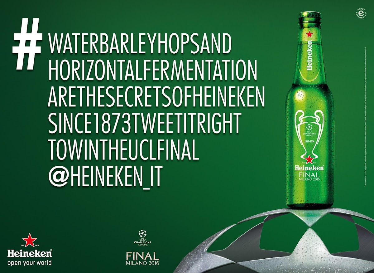 Heineken: The Final Hastag via Publicis Milan