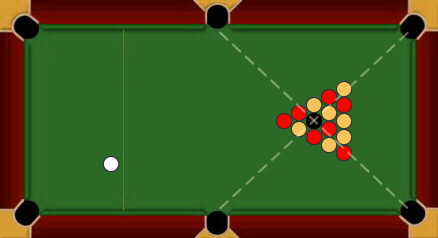 blackball pool rules break