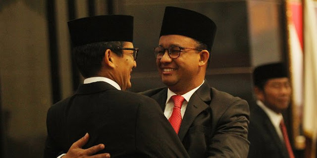 Sandi Klaim Ditawari Prabowo untuk Kembali Jadi Wagub DKI