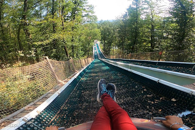 Adventure Valley Durbuy Tubing Slide