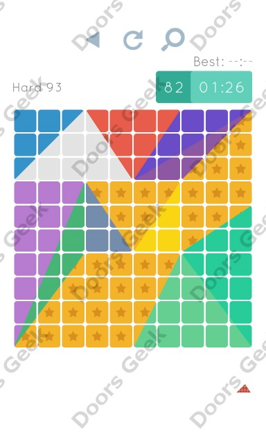 Cheats, Walkthrough for Blocks and Shapes Hard Level 93
